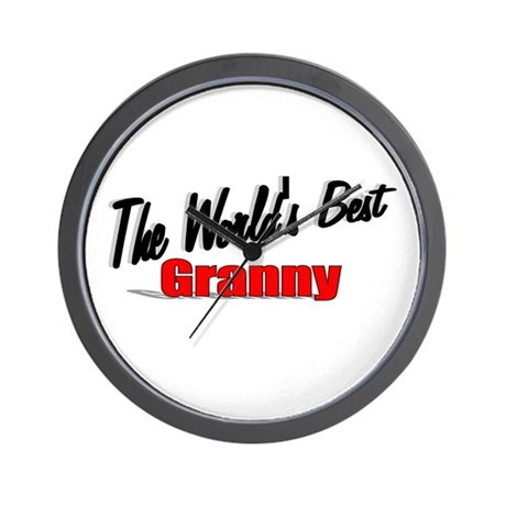 """The World's Best Granny"" Wall Clock"