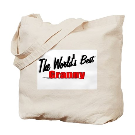 """The World's Best Granny"" Tote Bag"