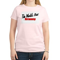 &quot;The World's Best Granny&quot; Women's Light T-Shirt