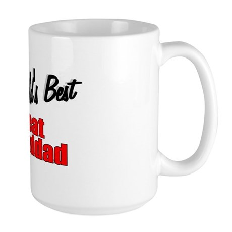 """The World's Best Great Granddad"" Large Mug"