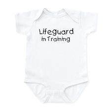 Lifeguard in Training Infant Bodysuit
