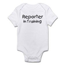 Reporter in Training Onesie