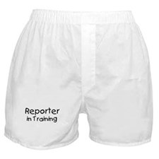 Reporter in Training Boxer Shorts