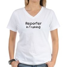 Reporter in Training Shirt