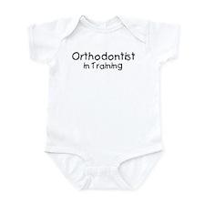 Orthodontist in Training Infant Bodysuit
