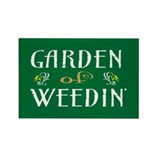 Garden of Weedin' Rectangle Magnet