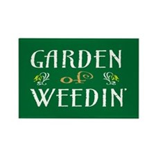 Garden of Weedin' Rectangle Magnet (10 pack)