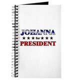 JOHANNA for president Journal