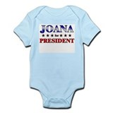 JOANA for president Onesie