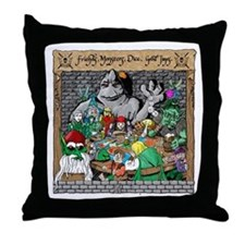 """Gamers Night"" Throw Pillow"
