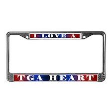 Cute Chd awareness License Plate Frame