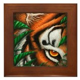 Tiger Framed Tile