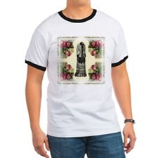 Four Roses Fashion Plate T