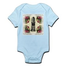 Four Roses Fashion Plate Infant Creeper