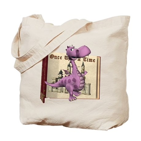 Dusty Dragon Tote Bag