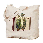 Mr. Gecko Tote Bag