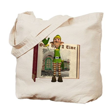 Santa's Elf Tote Bag