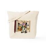 Billy Bull Tote Bag