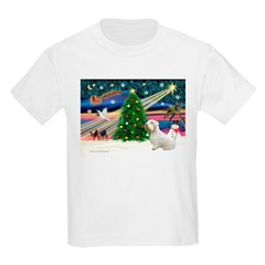 Xmas Magic / Sealyham Kids Light T-Shirt