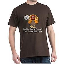 No Turkey Here Thanksgiving T-Shirt