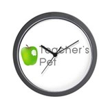Teacher's Pet Wall Clock