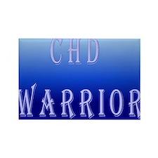 Funny Chd warrior Rectangle Magnet