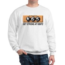 Get Strong at kibitz T-shirt -- long sleeve
