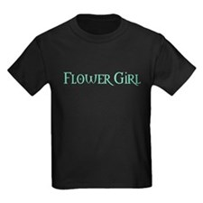 Flower Girl - Pale Green T