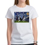 Starry Night & Bos Ter Women's T-Shirt