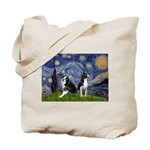 Starry Night & Bos Ter Tote Bag