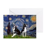 Starry Night & Bos Ter Greeting Cards (Pk of 10)