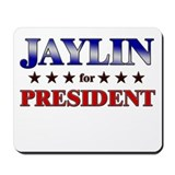 JAYLIN for president Mousepad