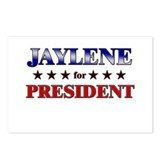 JAYLENE for president Postcards (Package of 8)