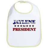 JAYLENE for president Bib
