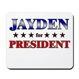 JAYDEN for president Mousepad