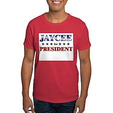 JAYCEE for president T-Shirt