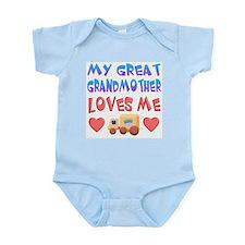 "Baby-Boy ""Great Grandmother"" Onesie"
