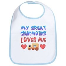 "Baby-Boy ""Great Grandmother"" Bib"