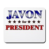 JAVON for president Mousepad