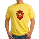 Wichita Police Motors Yellow T-Shirt