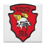 Wichita Police Motors Tile Coaster