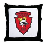 Wichita Police Motors Throw Pillow