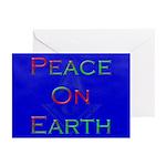 Masonic Peace on Earth Xmas Greeting Cards (Pk of