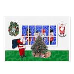 Masonic Christmas Greeting Postcards (Pk of 8)
