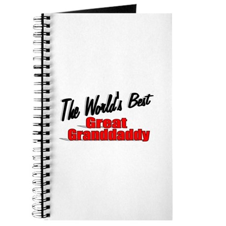 """The World's Best Great Grandaddy"" Journal"