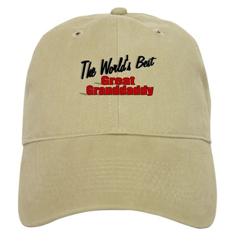 """The World's Best Great Grandaddy"" Cap"