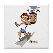 Runner (Male) Tile Coaster