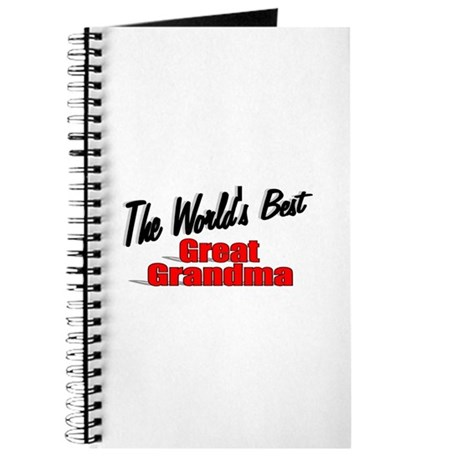 """The World's Best Great Grandma"" Journal"