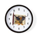 Vinnie Vulture Wall Clock