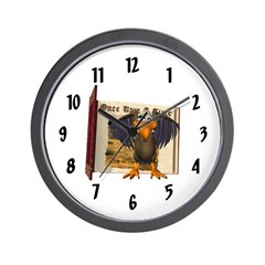 Vinnie Vulture Wall Clock